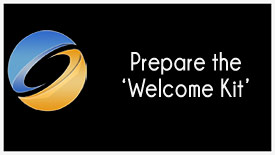 Prepare the Welcome Kit
