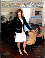 Executive Agent Magazine cover featuring Kim Ward